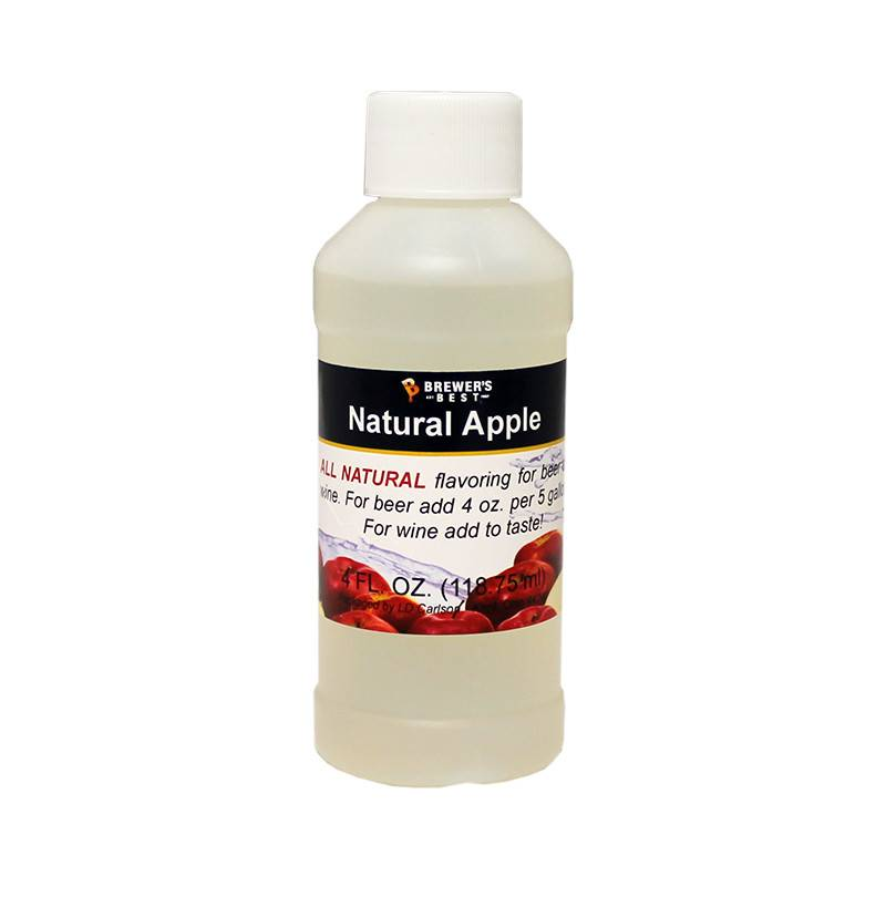 Brewers Best Apple Flavoring Extract 4 oz (All Natural)