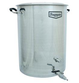 Brewmaster 25 Gallon Brewmaster Stainless Steel Brew Kettle