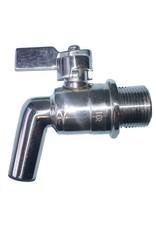 Brewmaster Stainless Steel Spigot - 1 in. BSP