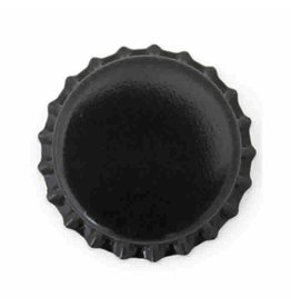 Star Crowns Crown Cap W/Oxy-Liner 144/Bag (Black)