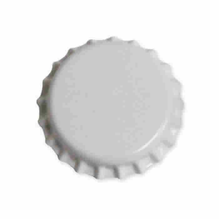 Crown Cap W/Oxy-Liner 144/Bag (White)