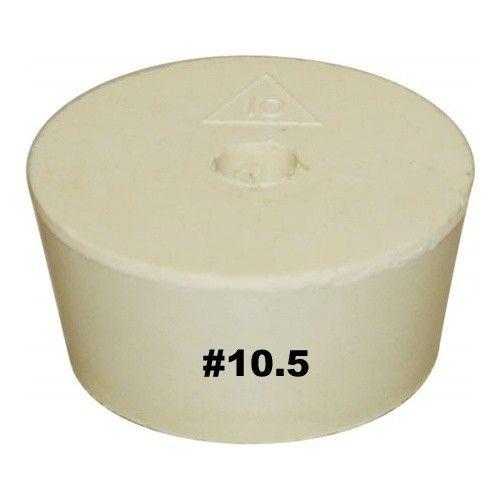 Vintage Shop Rubber Stopper W/Hole (#10.5)