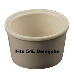 LD Carlson Universal Stopper #11-11.5 W/Hole (Fits 54L Demijohn)