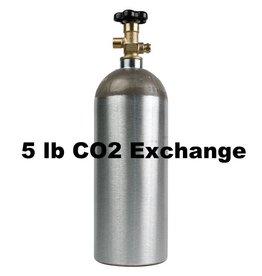 Purity Cylinder Gases CO2 Tank Exchange (5 lb)