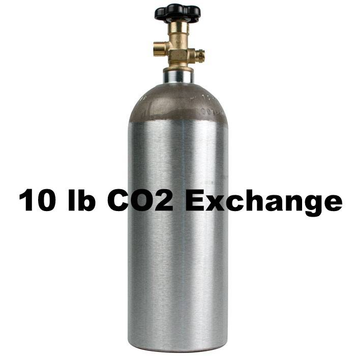 Purity Cylinder Gases CO2 Tank Exchange (10 lb)