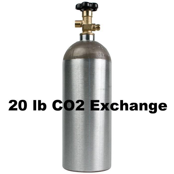 Purity Cylinder Gases CO2 Tank Exchange (20 lb)