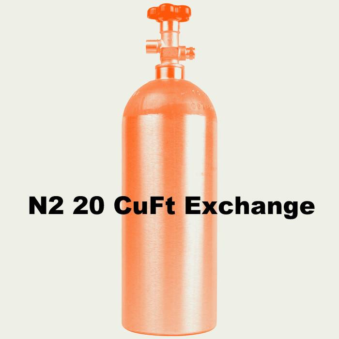 Purity Cylinder Gases N2 Tank Exchange (20 CuFt)