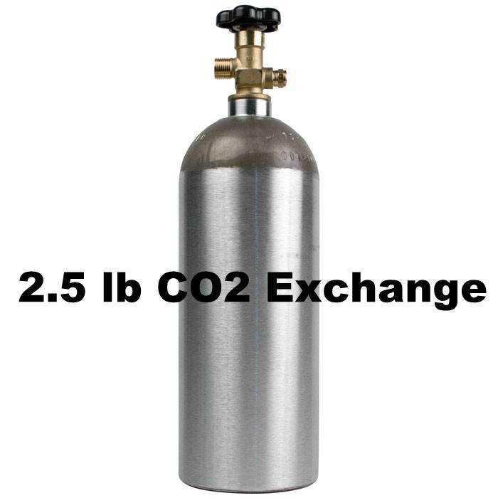 Purity Cylinder Gases CO2 Tank Exhange (2.5 lb)
