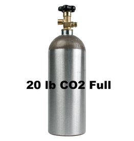 Purity Cylinder Gases CO2 Tank Full (20 lb)