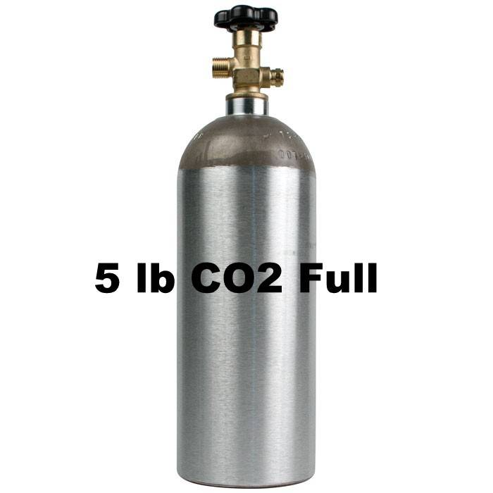 Purity Cylinder Gases CO2 Tank Full (5 lb)