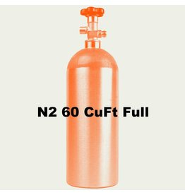 Purity Cylinder Gases N2 Tank Full (60 CuFt/H15)