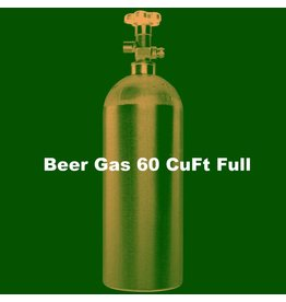 Purity Cylinder Gases Beer Gas Tank Full (60 CuFt/H15)