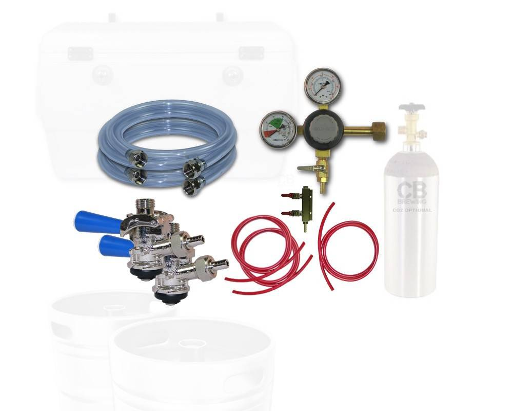 Coldbreak Brewing Jockey Box Dispensing Kit (2-Tap)