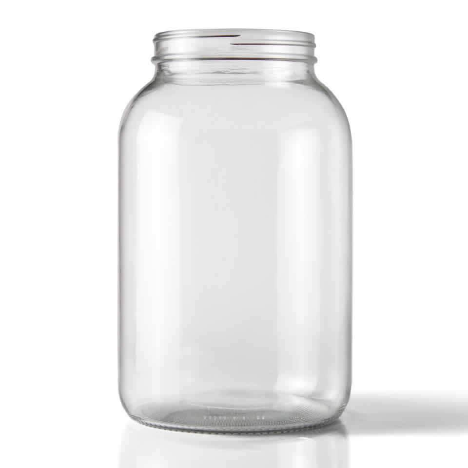 LD Carlson 1 Gallon Glass Jug (Wide Mouth)