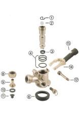 Foxx Equipment Company Body O-Ring for Sankey Coupler (Perlick)