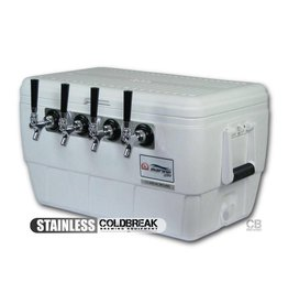 Coldbreak Brewing Jockey Box - 4 Tap (MPT)