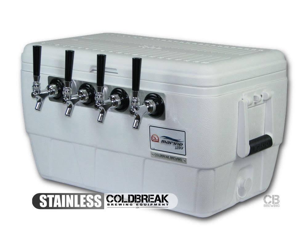 Coldbreak Brewing Jockey Box - 4 Tap (MPT)