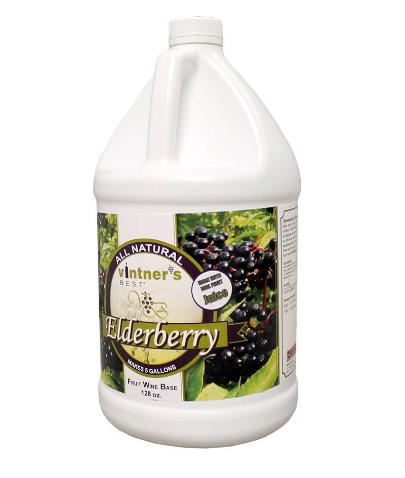 Vintners Best Vintner's Best Elderberry Fruit Wine Base (1 gallon)