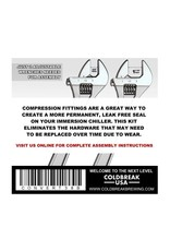 Coldbreak Brewing Compression Conversion Kit (Brass)