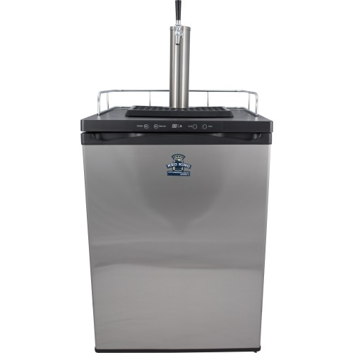 Keg King Keg King Nitro Kegerator W/Stainless Intertap Stout Faucets