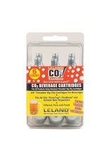 16g Threaded CO2 Cartridge (6 Pack)