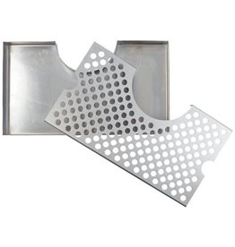 Brewmaster Drip Tray - 12 in. Wrap Around (Stainless)