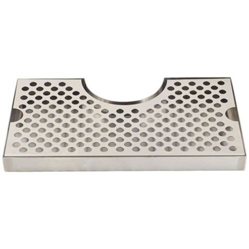 Drip Tray - 12 in. Wrap Around (Stainless)