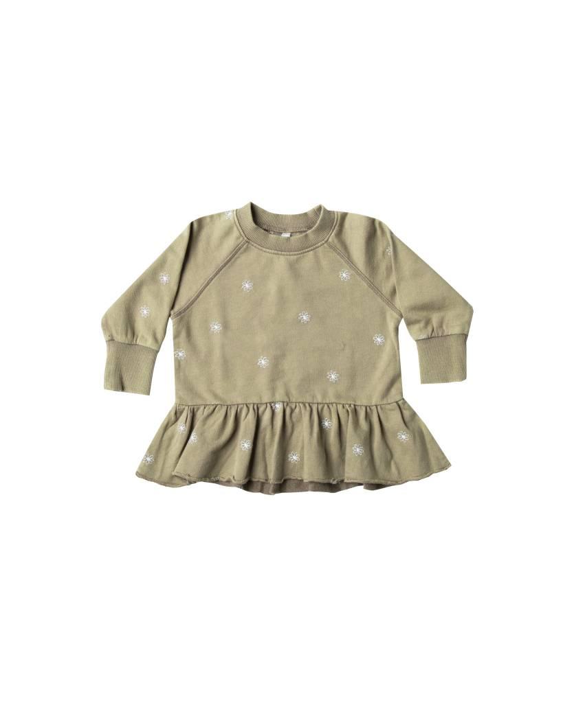RYLEE AND CRU Baby Peplum Sweatshirt