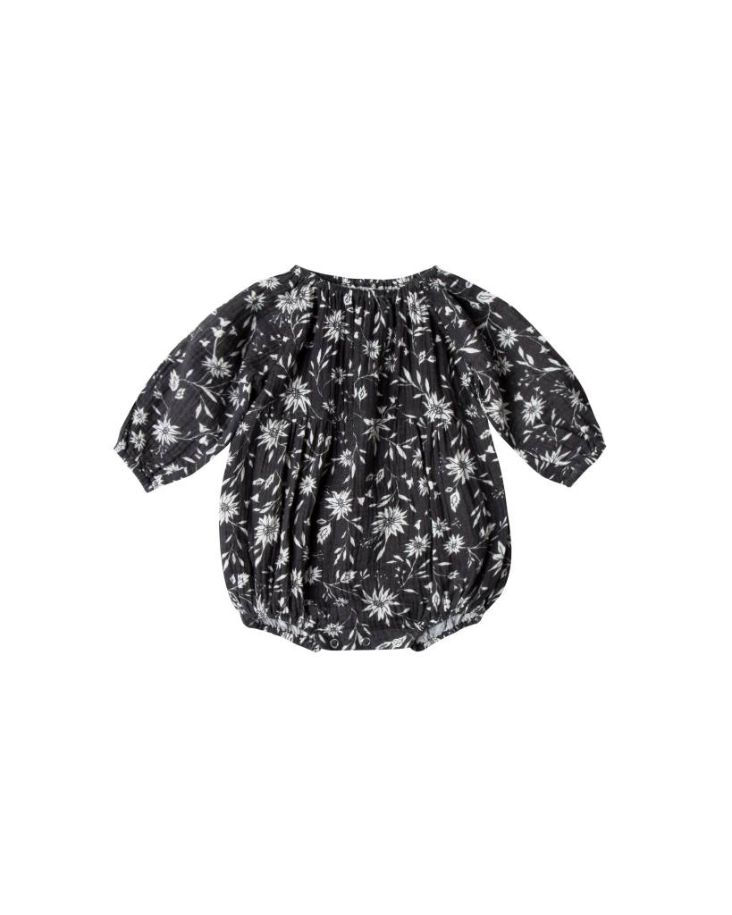 RYLEE AND CRU Floral Long Sleeve Bubble Romper