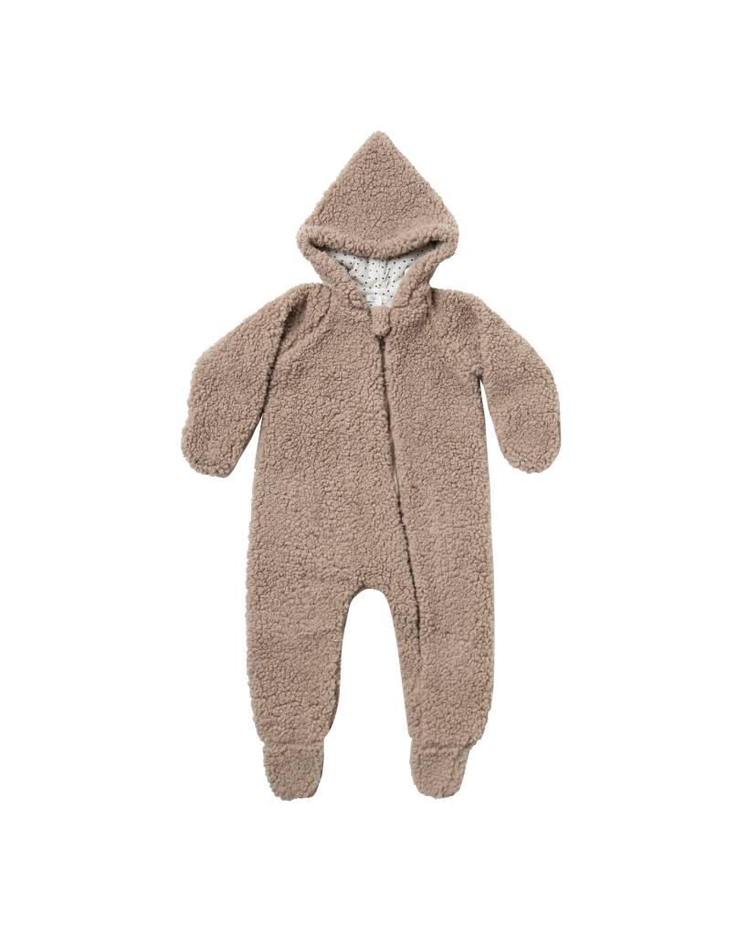 RYLEE AND CRU Baby Fur Jumpsuit