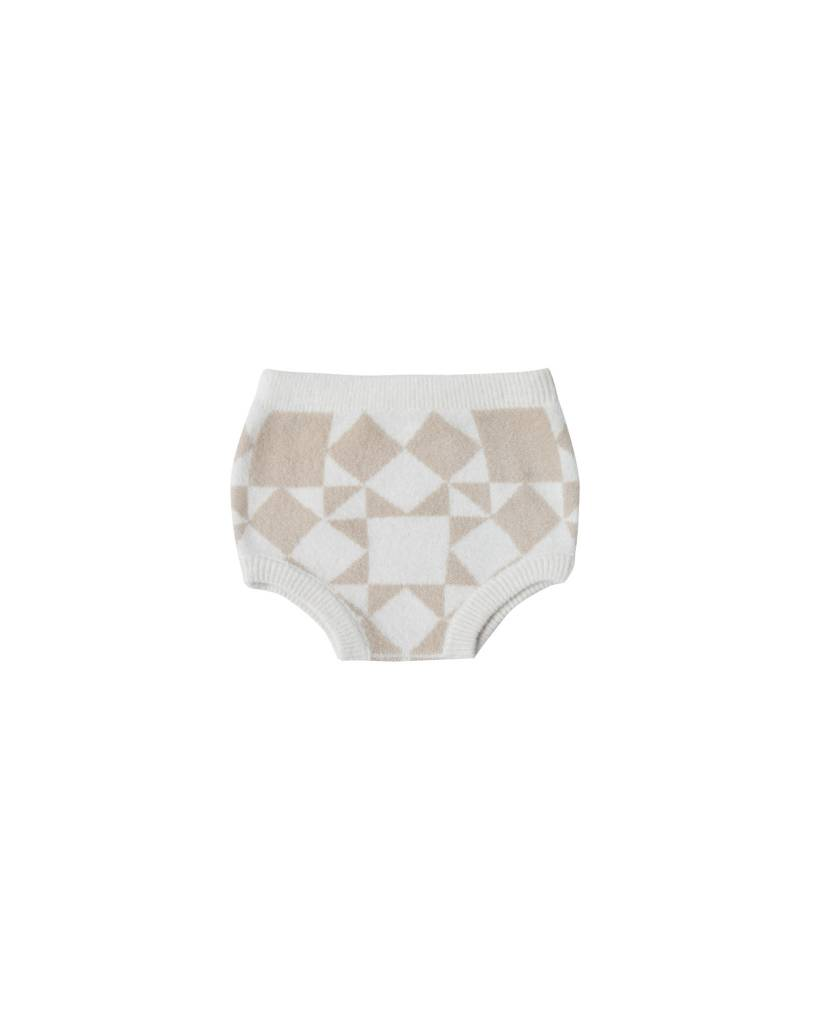 RYLEE AND CRU Patchwork Jacquard Knit Bloomer