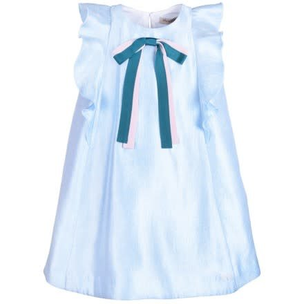 HUCKLEBONES Ribbon Flutter Dress