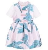 HUCKLEBONES Short Sleeve Bodice Dress