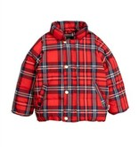 MINI RODINI Check Puffer Jacket