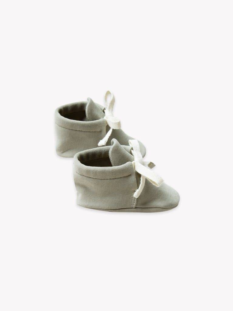 Quincy Mae Organic Brushed Jersey Baby Boots