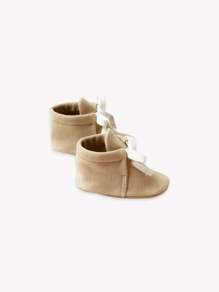 QUINCY MAE Organic Brushed Jersey Baby Boot