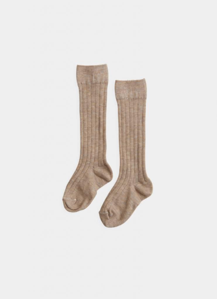BELLE ENFANT Rib Knee High Socks