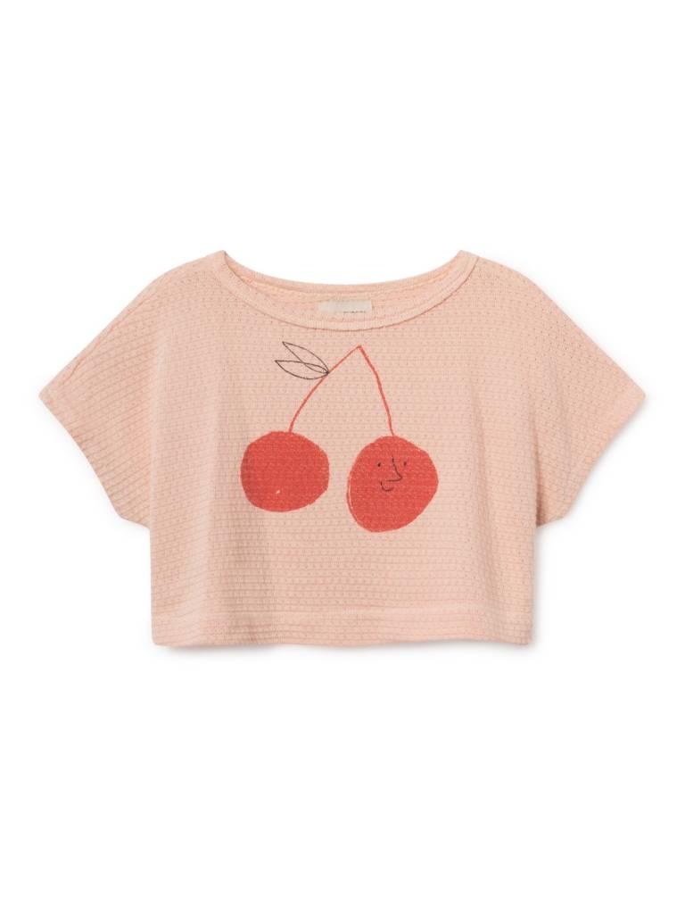 BOBO CHOSES Cherry Cropped Sweatshirt
