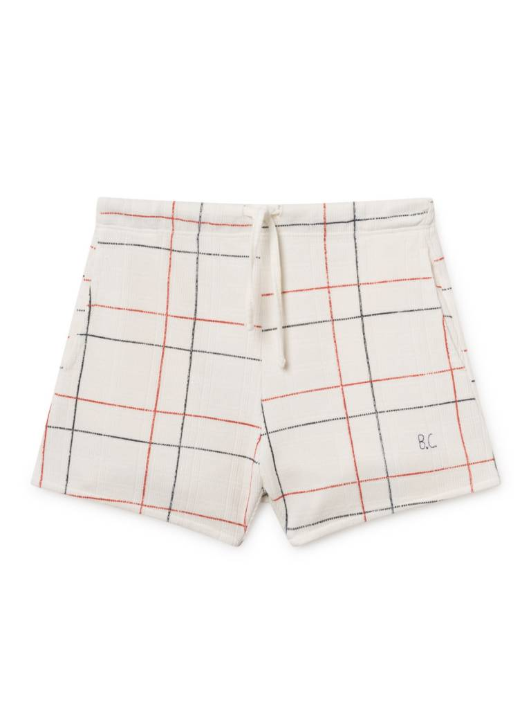 BOBO CHOSES Lines White Shorts