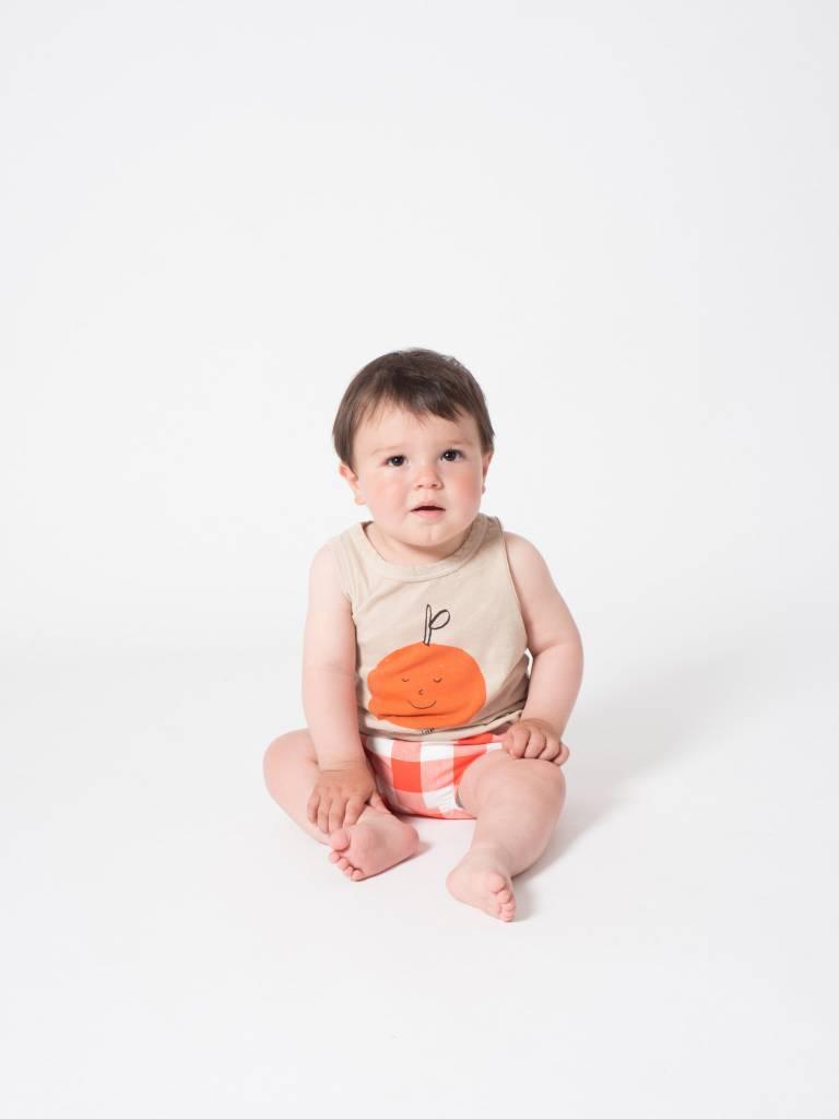 BOBO CHOSES Tangerine Dreams Linen Tank Top