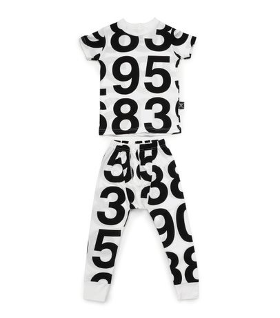 NUNUNU Numbered Loungewear