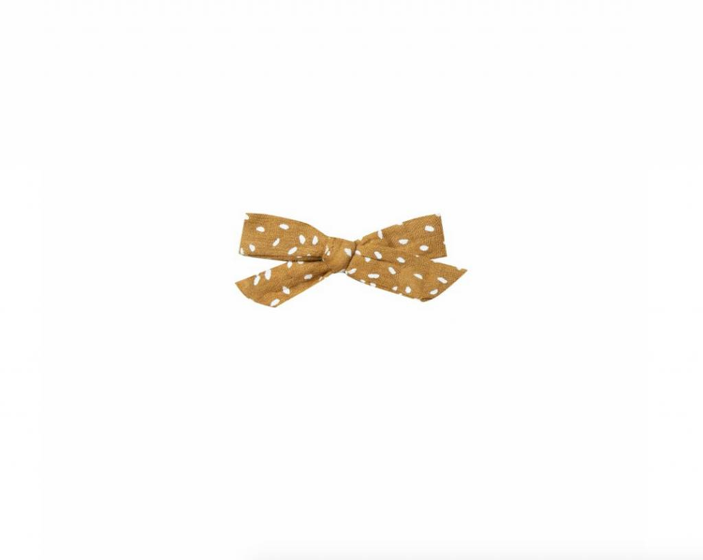 RYLEE AND CRU Saffron Seeds Bow with Clip