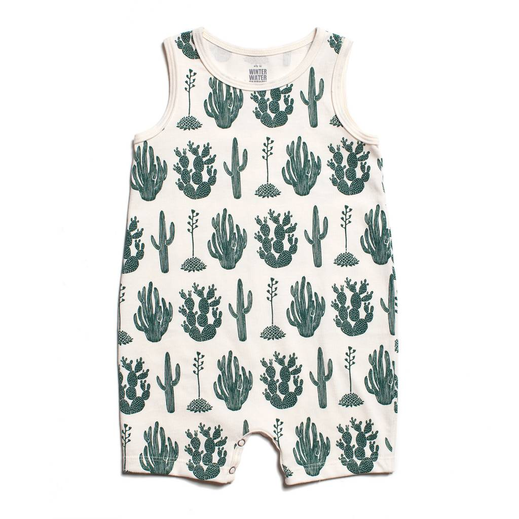 WINTER WATER FACTORY Tank Top Romper