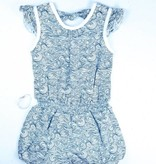 FEATHER BABY Tie Romper