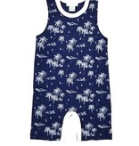 FEATHER BABY Tank Romper