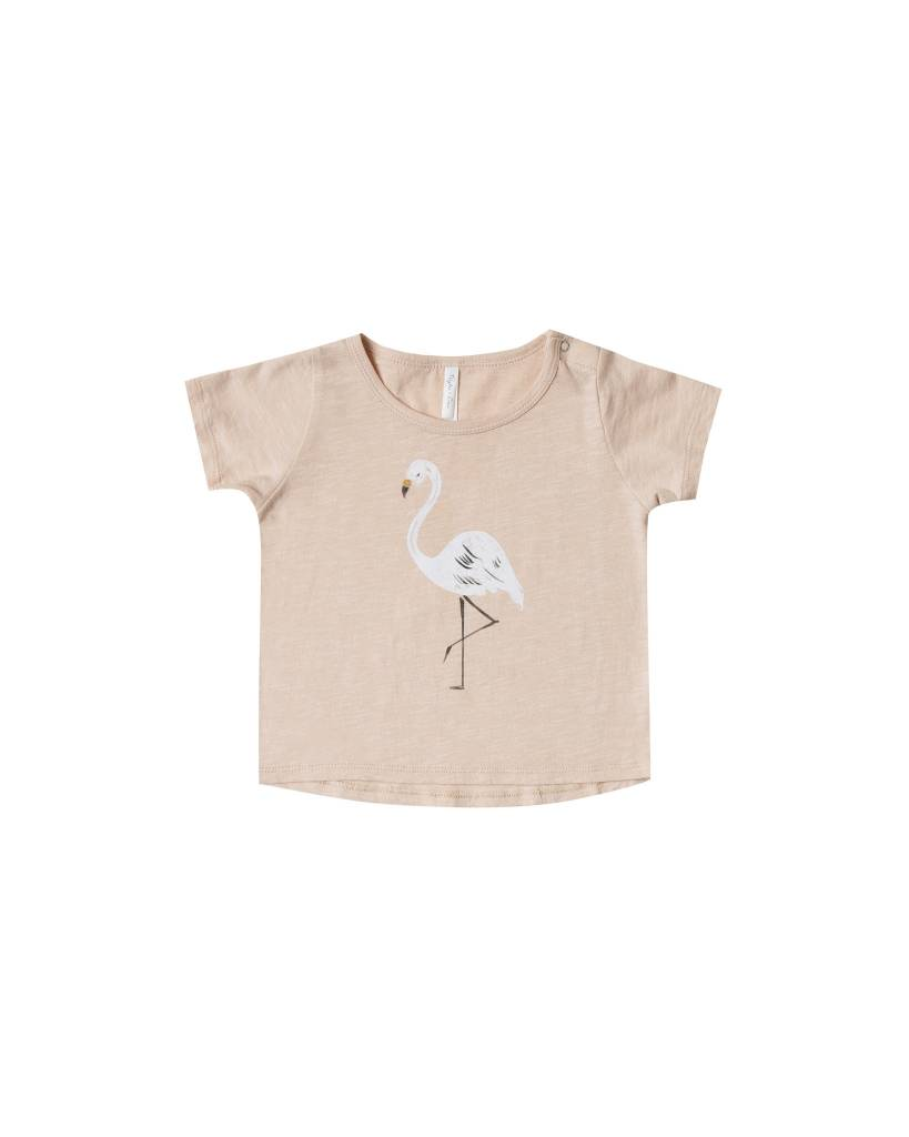 RYLEE AND CRU Flamingo Basic Tee