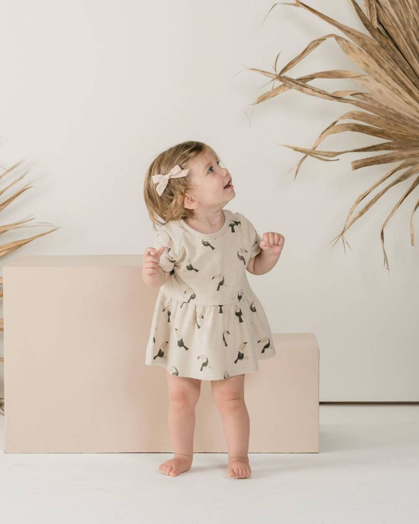 RYLEE AND CRU Baby Toucan Raglan Dress