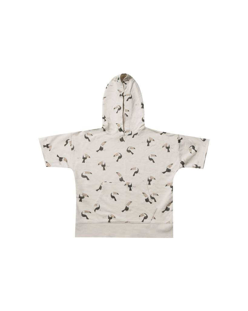 RYLEE AND CRU Toucan Short Sleeve Hoodie