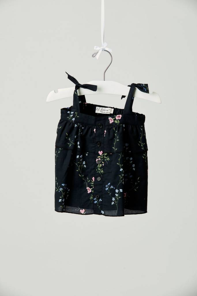 LIL' LEMONS Flower Patch Tank Bloomer Set