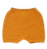 OEUF Baby Honeycomb Knit Shorts